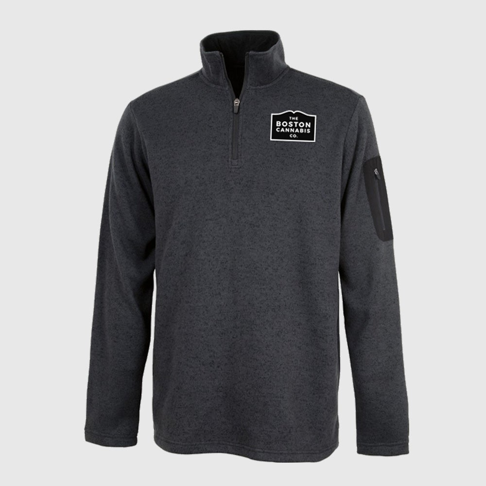 Image of Mens Quarter Zip Fleece