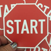 Image of Pack of 50 Start Stickers - MSRP $4 each