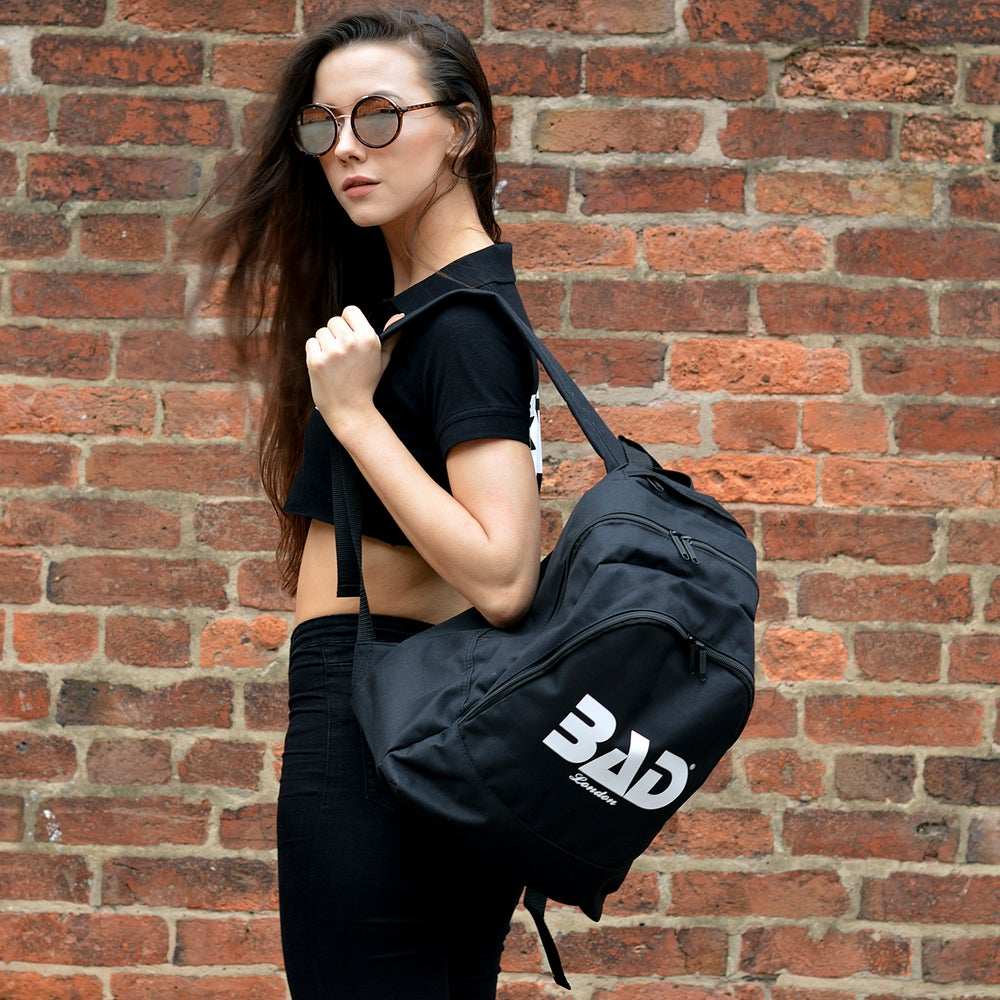 Image of Bad Clothing London Premium Backpack Urban Streetwear and fitness fashion