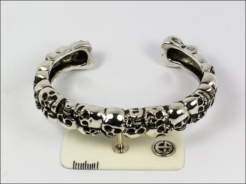 Image of Catacombs Skull Bracelet