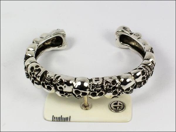 Image of Catacombs Skull Bracelet