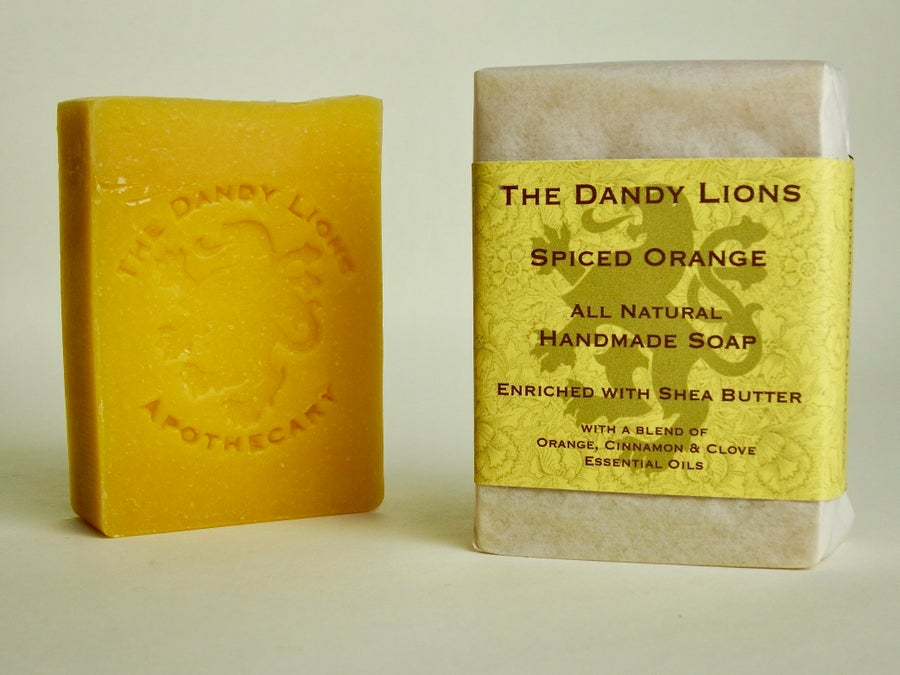 Image of Spiced Orange Soap enriched with Shea Butter