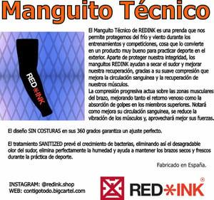 Image of MANGUITO TÉCNICO RED/BLACK