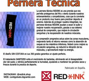 Image of PERNERA TÉCNICA RED/BLACK