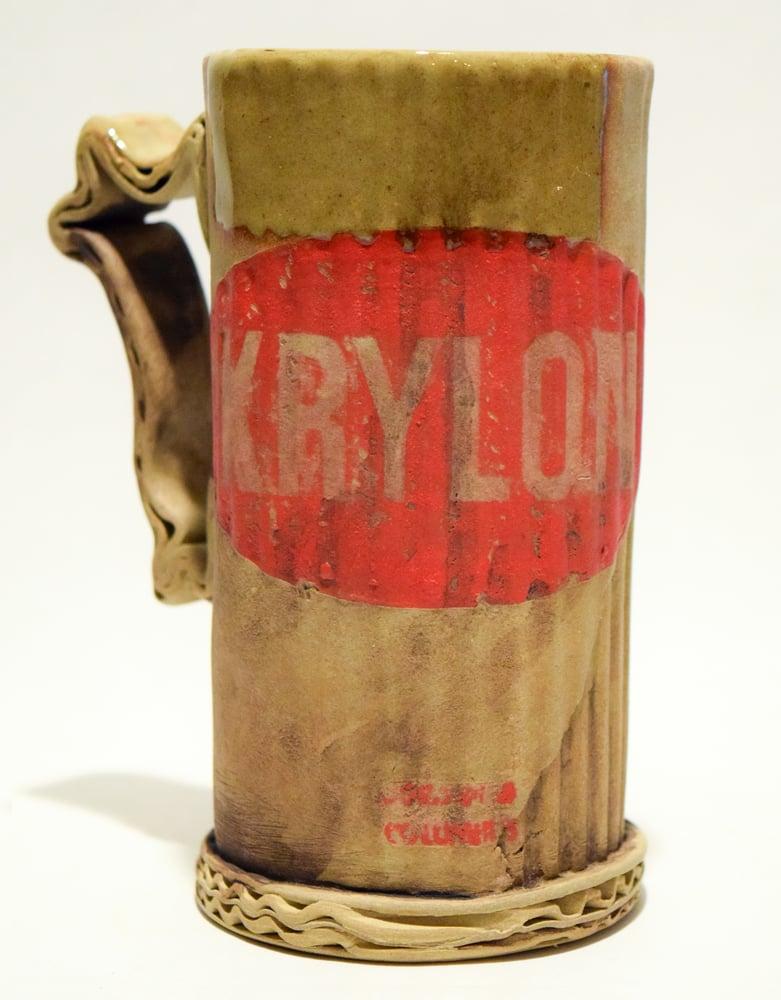 Image of Krylon ceramic mug