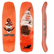 Image of Red Morning skate deck