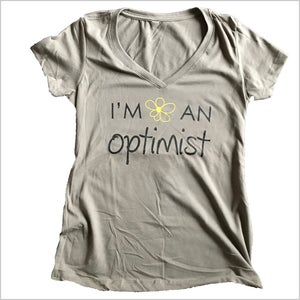 Image of The I'm An Optimist Tee