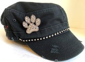 Image of Cadet Hat w/Words  Dog Paw