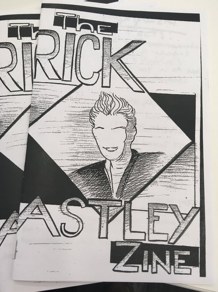 Image of The Rick Astley Zine