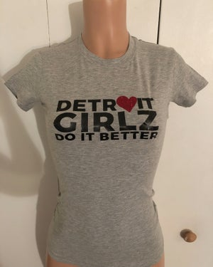 Image of Detroit Girlz Do It Better Heart T-shirt