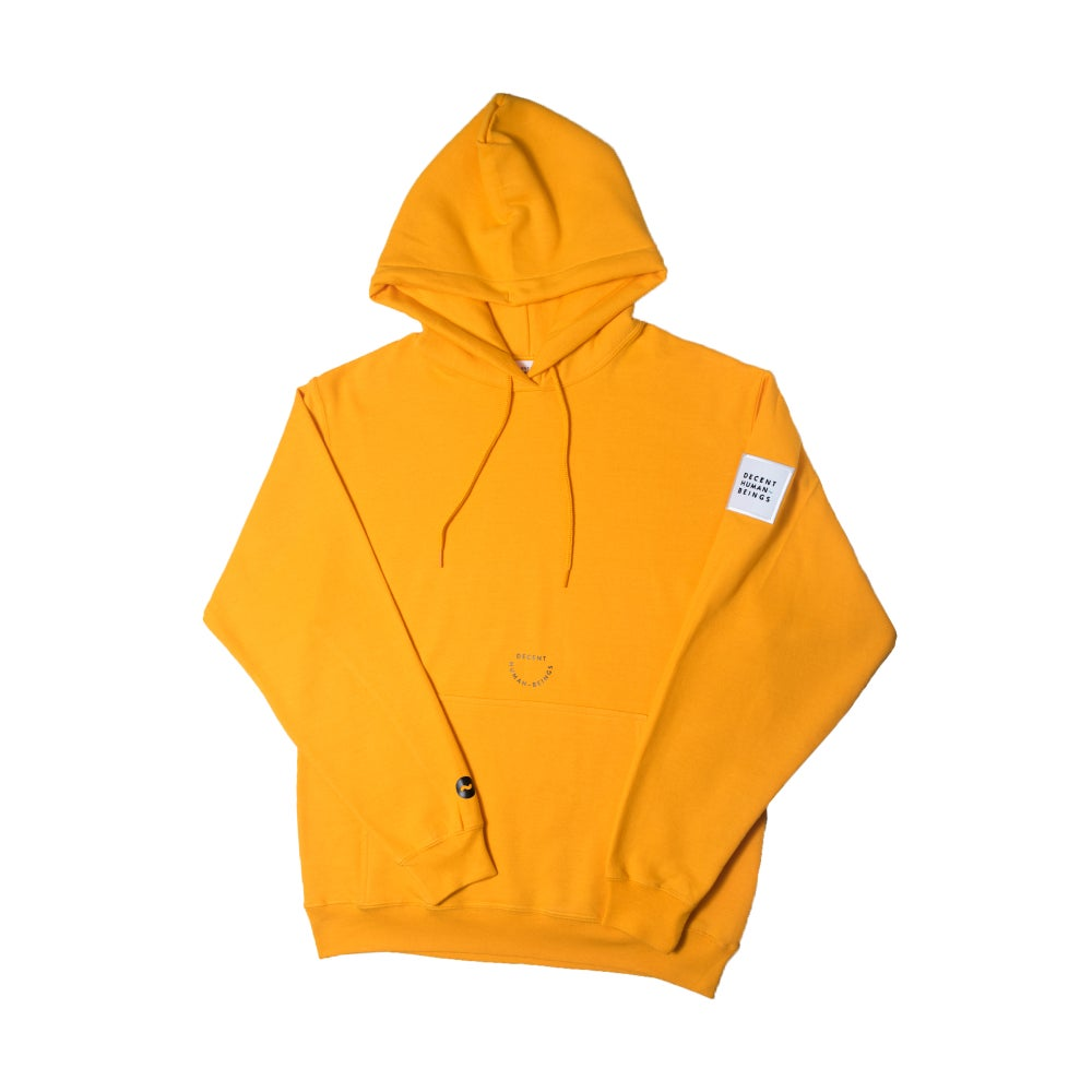 Image of Patch Hoodie - Yellow