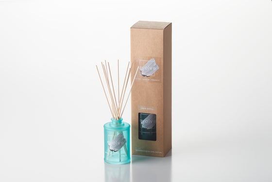 Image of Reed Diffuser Teal Glass Frosted Mint 200ml