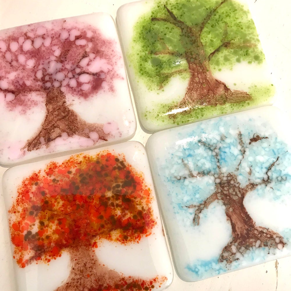 Image of The Seasons Coaster set