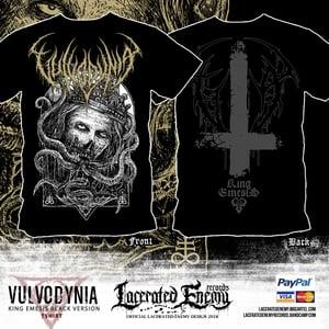 Image of VULVODYNIA - King Emesis - Black version TS 2018