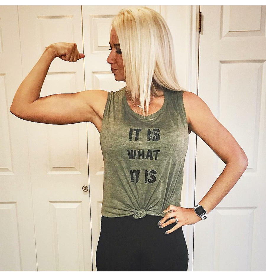 Image of It Is What It Is muscle tank