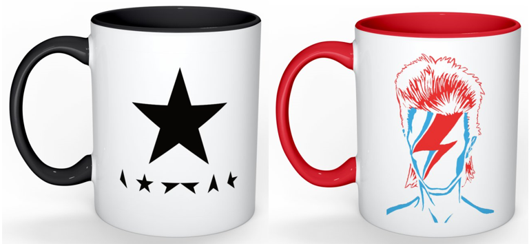 Image of Bowie Mugs