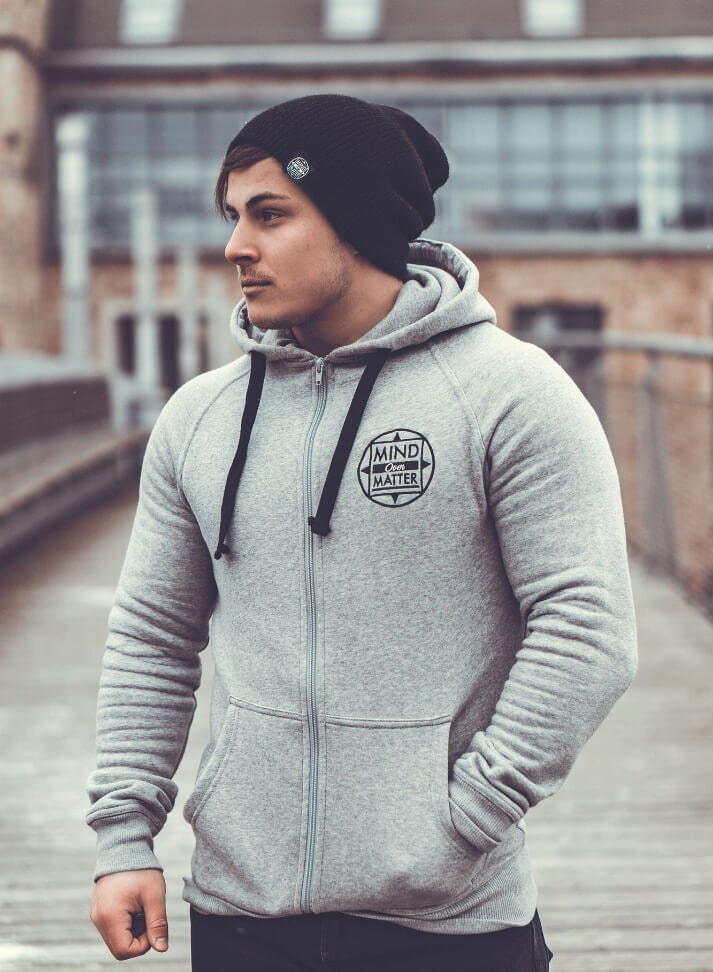 Image of CREATE YOUR OWN REALITY ZIP-HOODIE