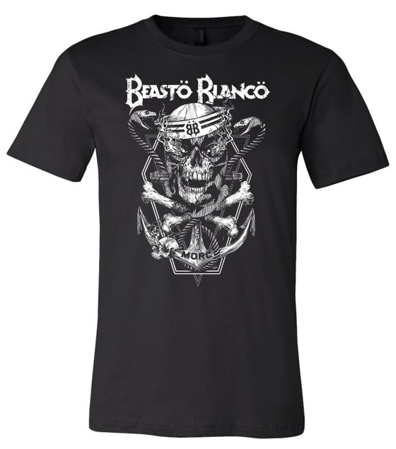 "Image of OFFICIAL - BEASTO BLANCO - LIMITED EDITION - M.O.R.C. ""BLACK SKULL"" SHIRT"