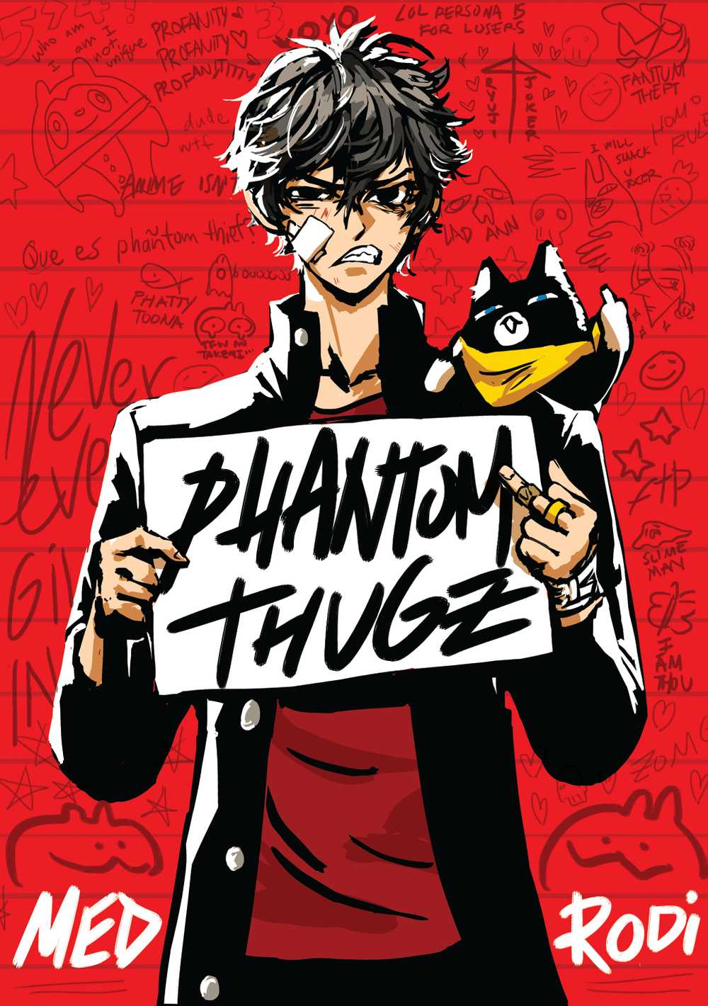 PERSONA 5 / phantom thugz zine