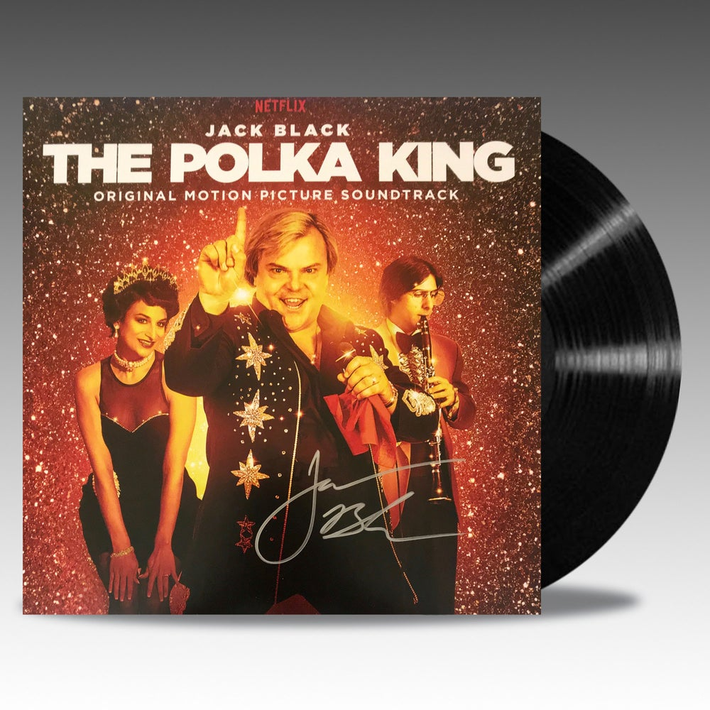Image of The Polka King (Original Motion Picture Soundtrack) 'Signed edition' - Jack Black