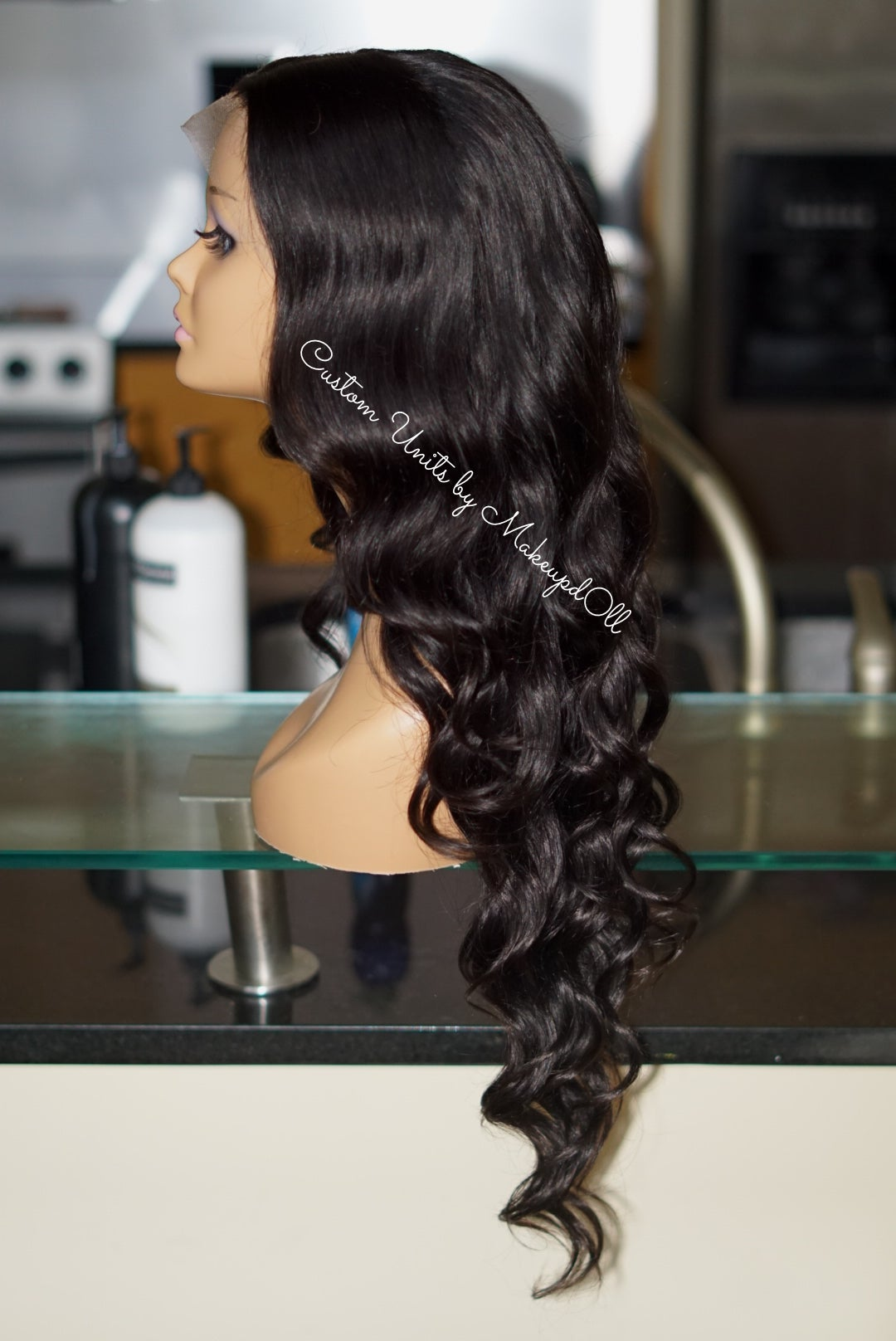 "Image of Peruvian Body Wave 26"" Custom Lace Frontal Wig!"
