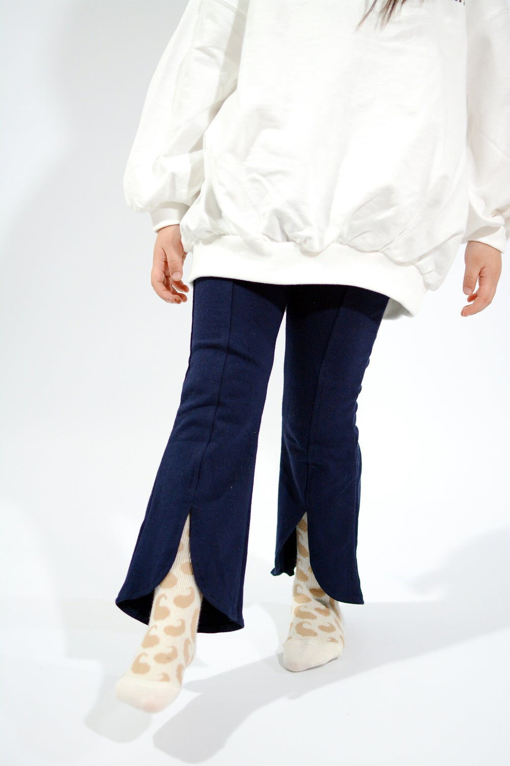 Split Pants P4SS2003 Pantaloni Spacco