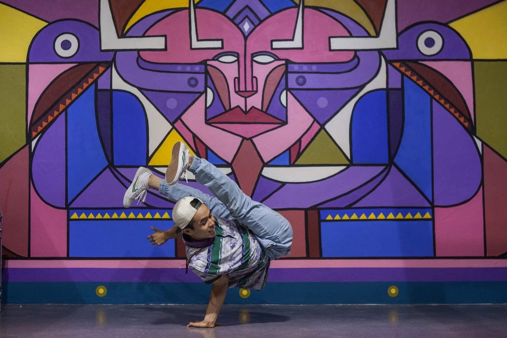 Image of Power and Freeze Foundation with Bboy Dang