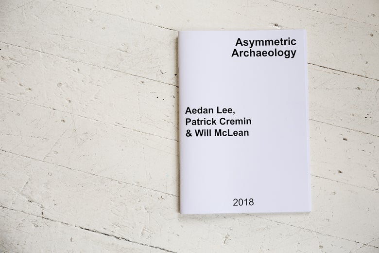 Image of Asymmetric Archaeology exhibition publication