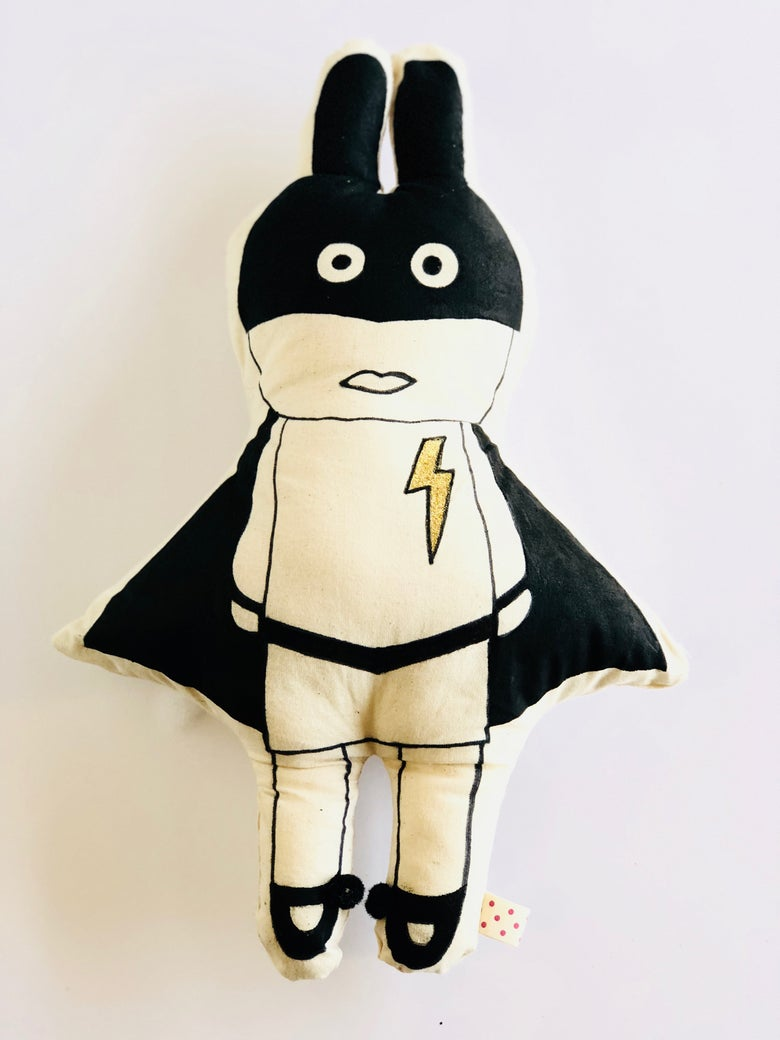 Image of Lozen! a limited edition handmade art soup soft toy