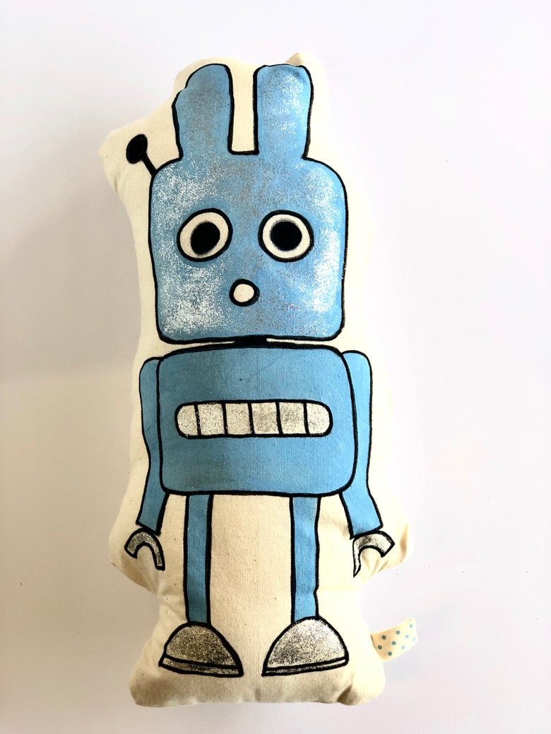 Image of Hopper! a limited edition handmade art soup soft toy