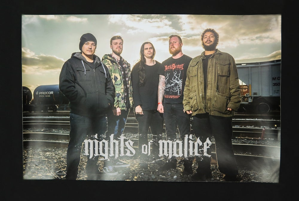 Image of Band Members Poster