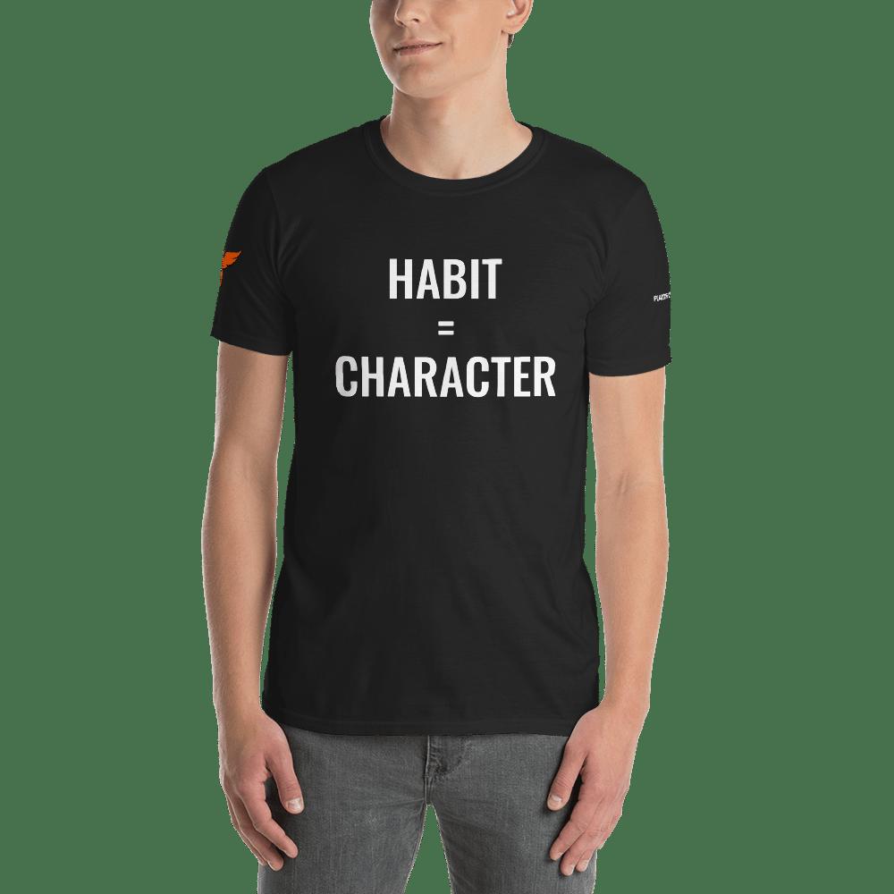 Image of Habit=Character T-Shirt