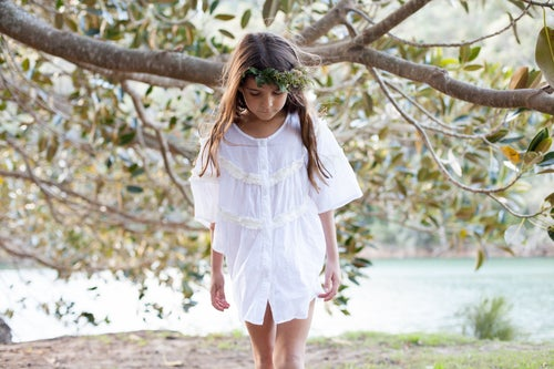 Image of Bowie Kaftan - White