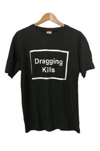 Image of DRAGGING KILLS TEE <br/> BLACK