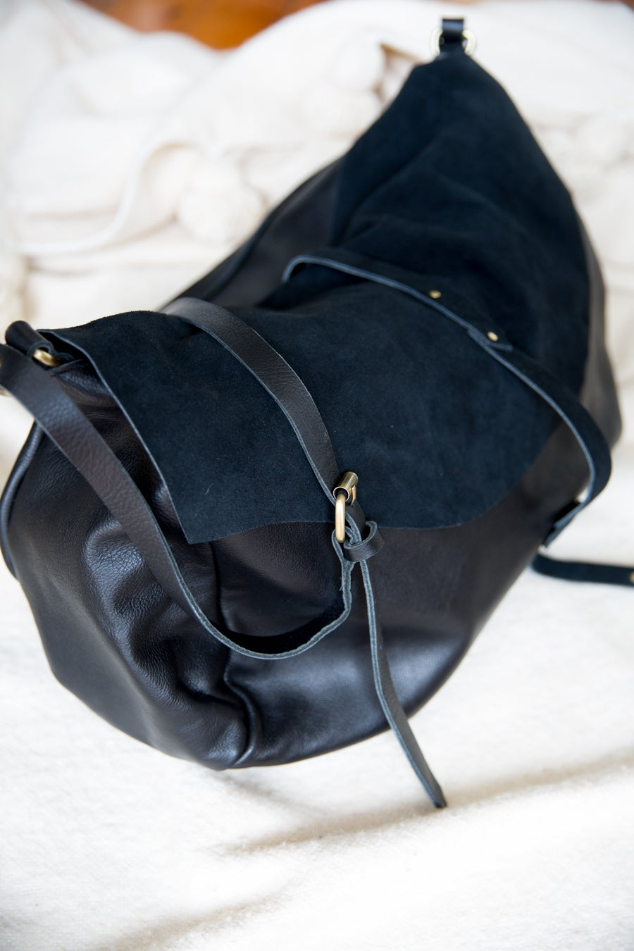 Image of Mama Bag - Leather and Suede - PRE-ORDER NOW OPEN