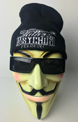Image of TATTOO PSYCHO'S BLACK BEENIES