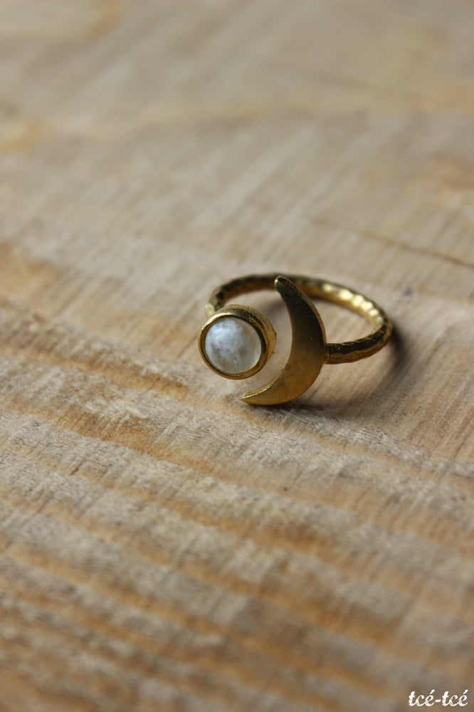 "Image of Bague ""Fly me to the moon"""