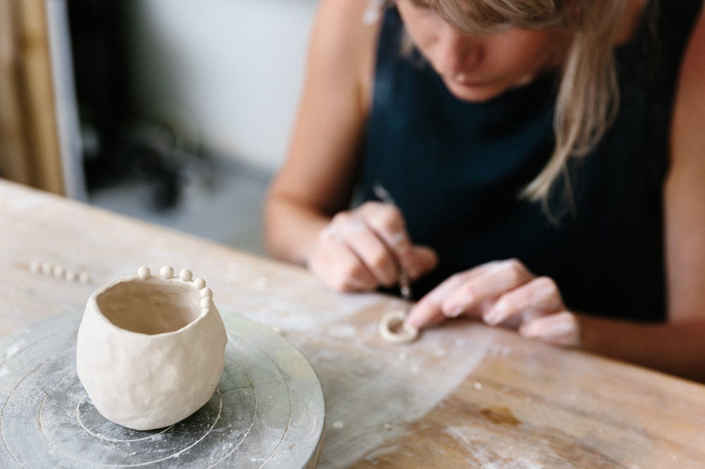 Image of PORCELAIN hand building class ~ may 26th