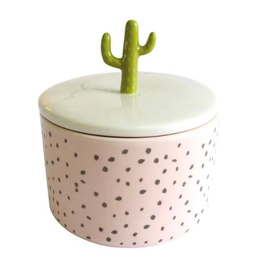Image of Cactus Ceramic Storage Jar