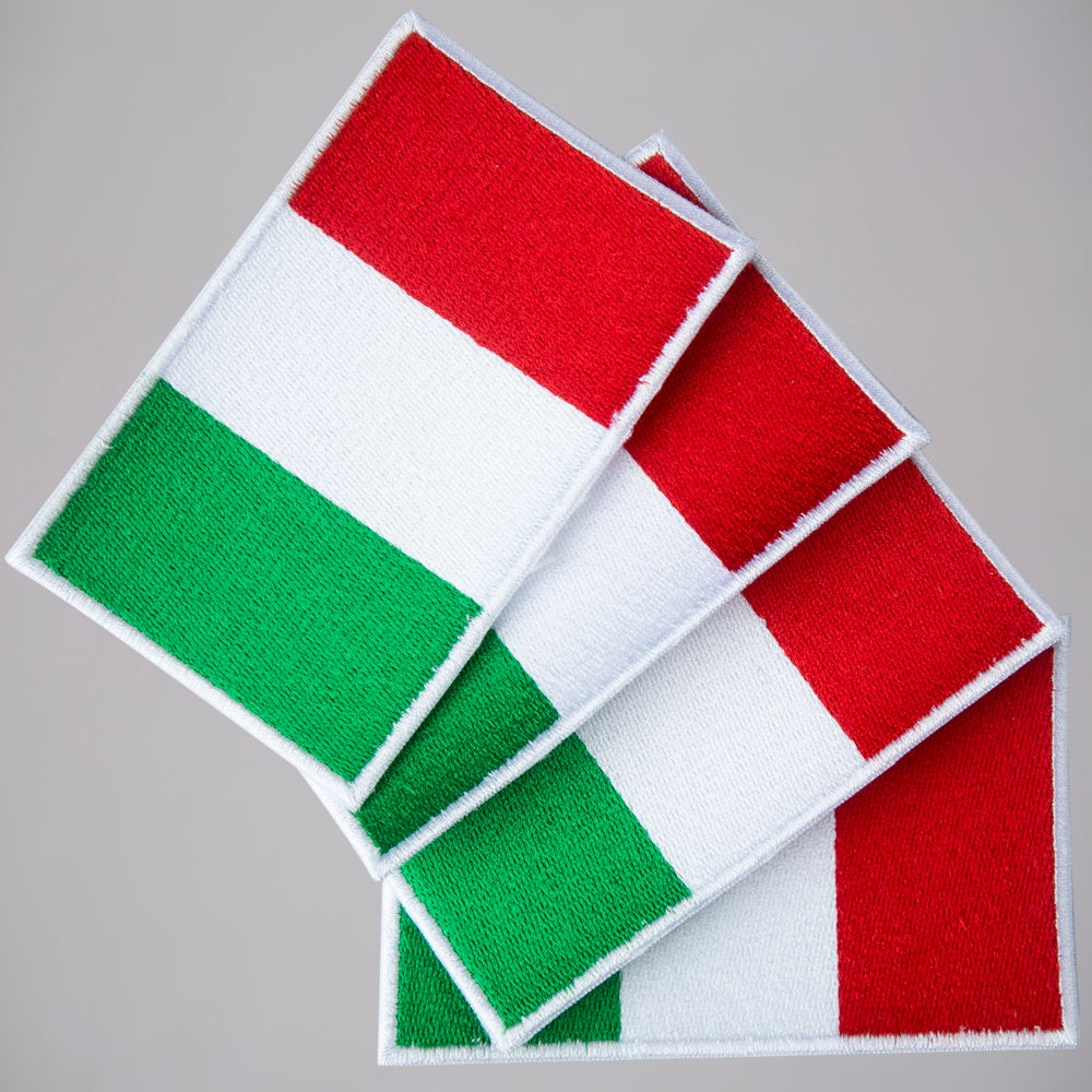ITALY FLAG PATCH