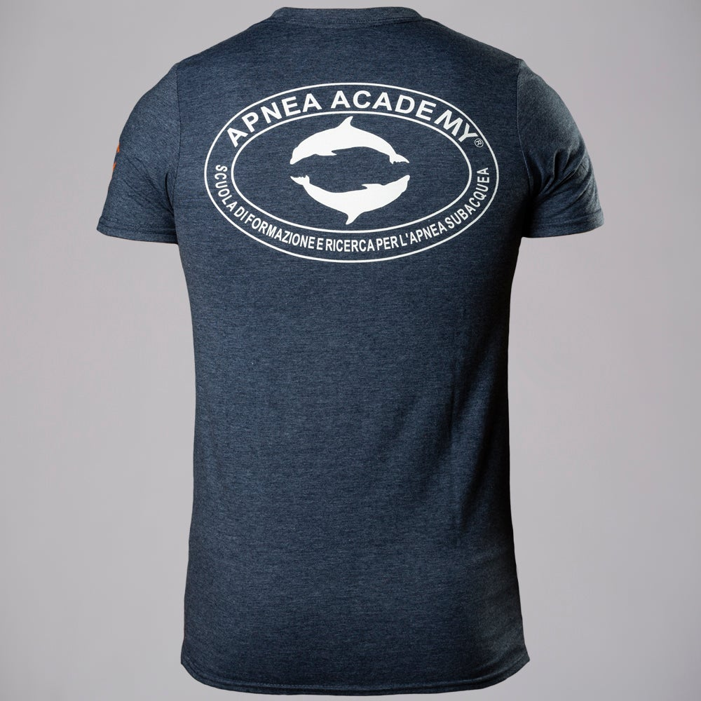 Image of CREW-T MAN Heather Navy