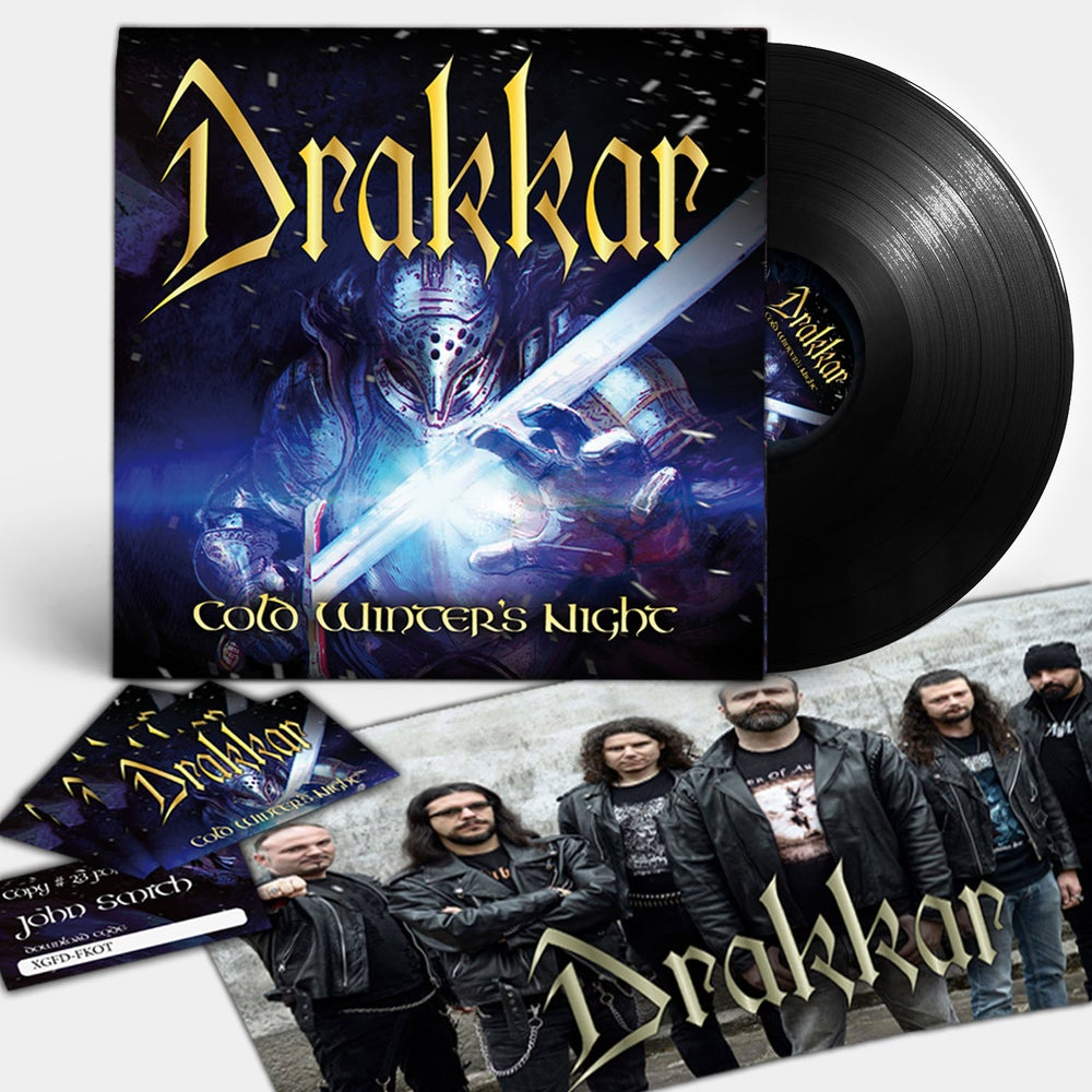 "Image of DRAKKAR ""Cold Winter's Night"" LP (PRE-ORDER NOW!!!)"