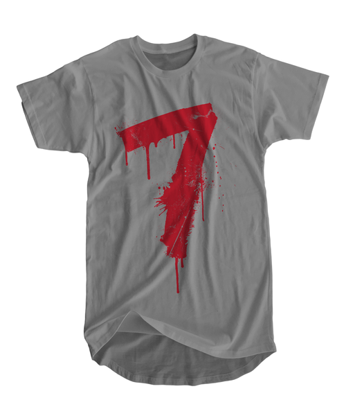 Image of 7 Places Commemorative T-Shirt (Gray)