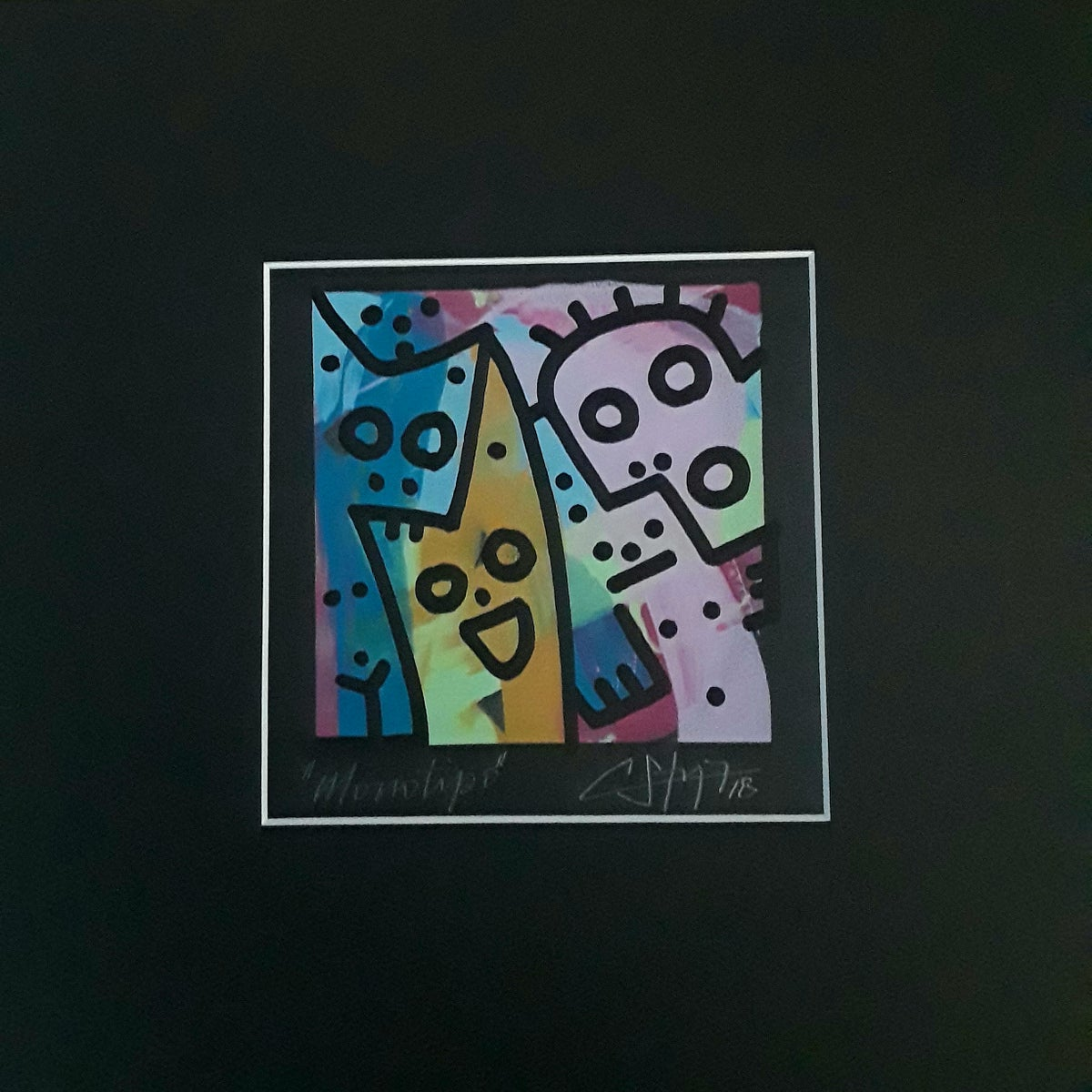 "Image of ""Surprise""(Silkscreen Print)"