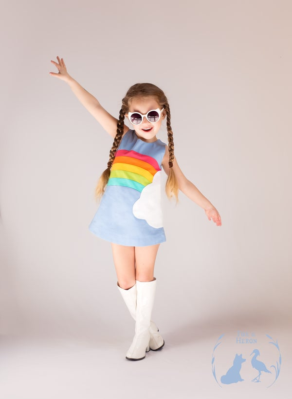Image of Rainbow Mod dress