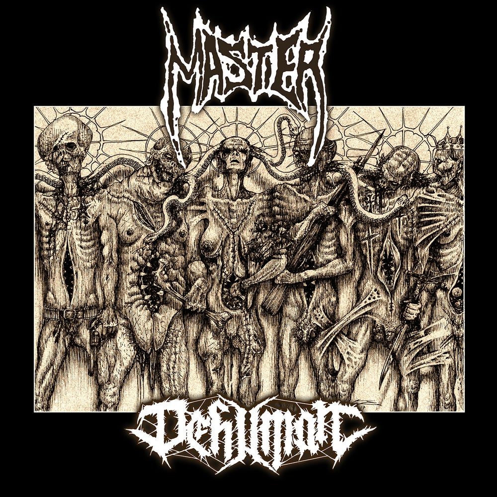 "Image of MASTER / DEHUMAN ""Decay into Inferior Conditions"" LP"
