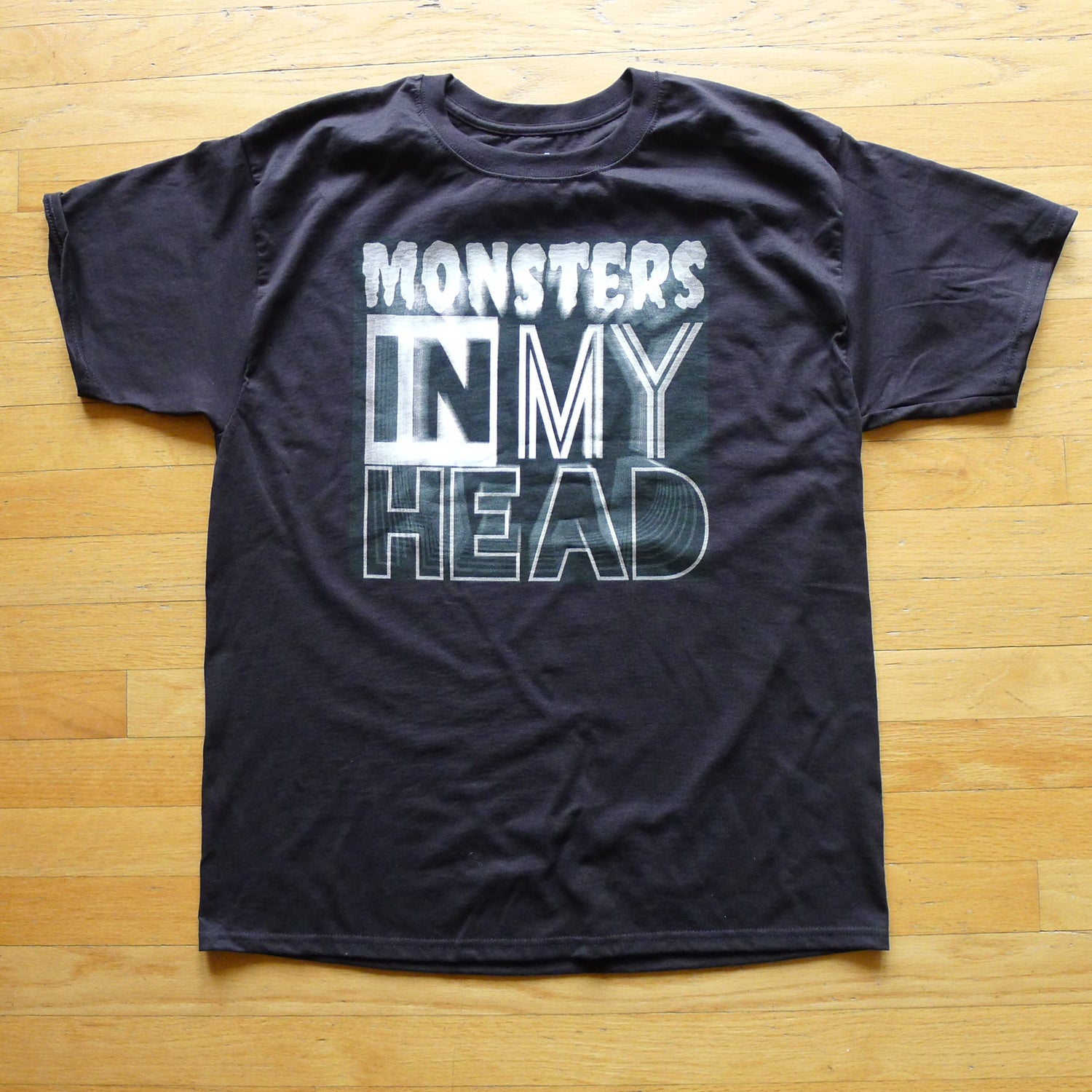 Image of Monsters In My Head Shirt / Black and White