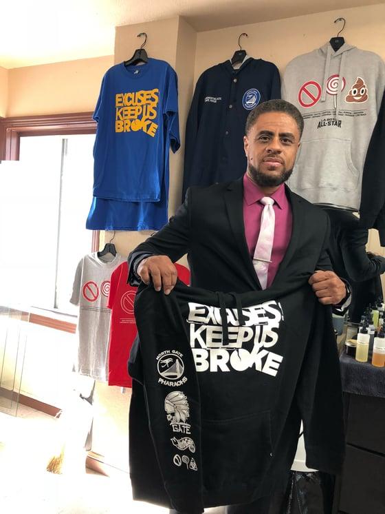Image of Black EKUB Hoodie
