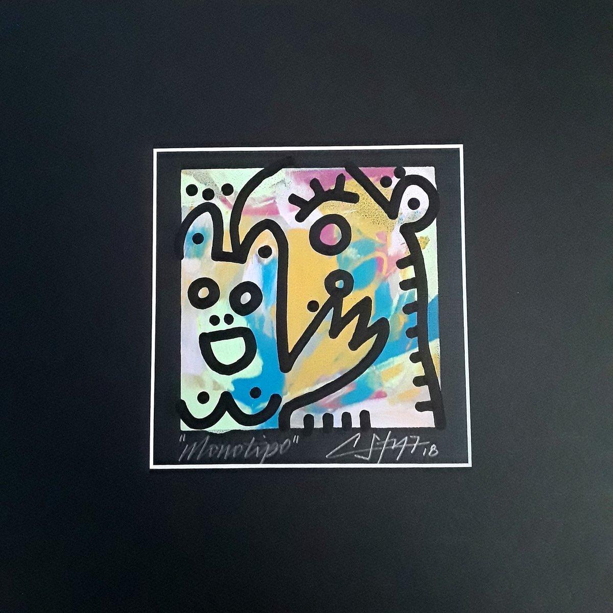 """Image of """"Hola""""(Silkscreen Print)"""