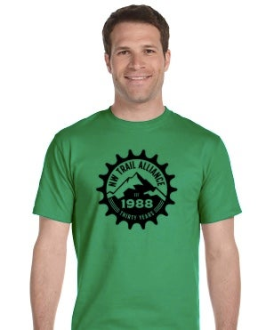 Image of Men's Green 30th Anniversary T-Shirt